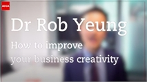 Dr Rob Yeung: Business creativity