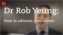 Dr Rob Yeung: How to advance your career