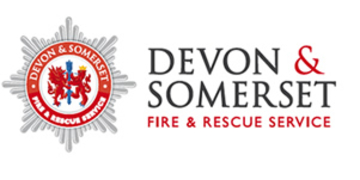 Devon and Somerset Fire and Rescue Service logo