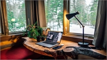 Out of office: advice on creating the best possible workspace at home