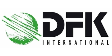 DFK International logo