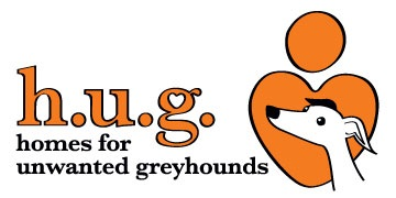 H.U.G (Homes for Unwanted Greyhounds) logo